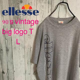 エレッセ(ellesse)の90's ellesse エレッセ ゴールドウィン製 ビックロゴ Tシャツ 希少(Tシャツ/カットソー(半袖/袖なし))