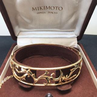 ミキモト(MIKIMOTO)の☆MIKIMOTO K18バングル☆(ブレスレット/バングル)