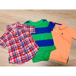 ギャップ(GAP)の80センチ 男の子 3枚セット(Tシャツ)