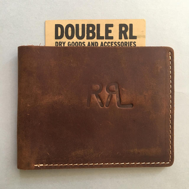 RRL - RRL オイルドヌバックレザー ケース 財布 ブラウン 名刺入れ カードケースの通販 by こたまちゃん's shop|ダブルアールエルならラクマ