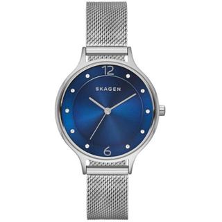 スカーゲン(SKAGEN)のSKAGEN 腕時計 シルバー×ブルー レディース(腕時計)