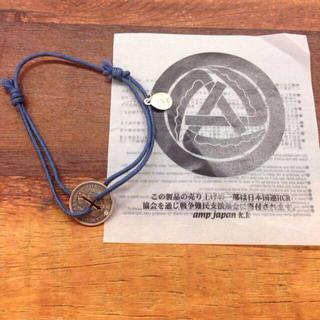 アンプジャパン(amp japan)のamp japan コインブレスレット(ブレスレット)