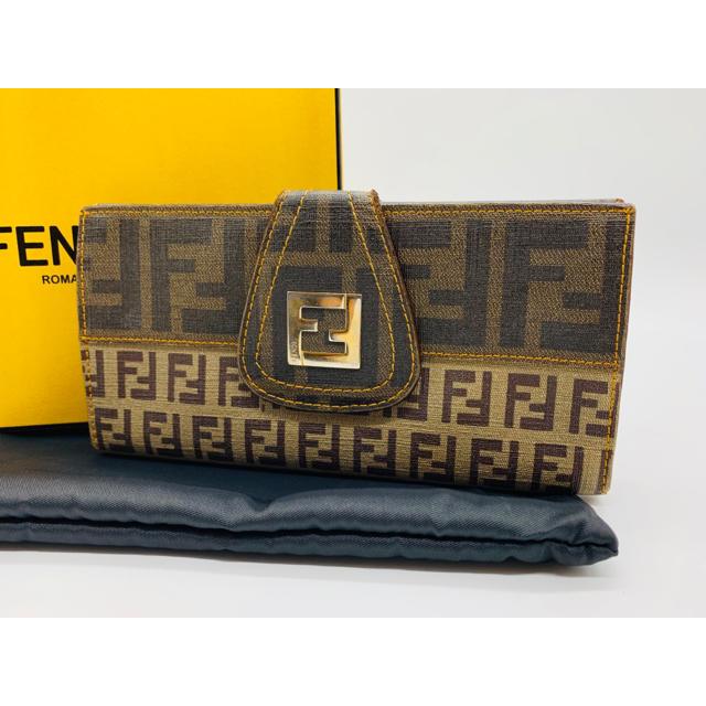 FENDI - ⭐️ フェンディ ズッカ柄 長財布 PVC レザー 正規品の通販 by ENN's shop|フェンディならラクマ