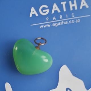 アガタ(AGATHA)のAGATHA ハートペンダントトップ(チャーム)