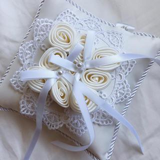 ヨンドシー(4℃)の新品 4℃ リングピロー 結婚指輪 結婚式 リング ブライダル(リングピロー)