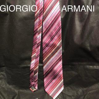 ジョルジオアルマーニ(Giorgio Armani)のジョルジオ アルマーニ レジメンタル ネクタイ(ネクタイ)