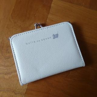 ビュルデサボン(bulle de savon)のリンネル ビュルデサボン 付録 がま口財布 降り財布 (財布)