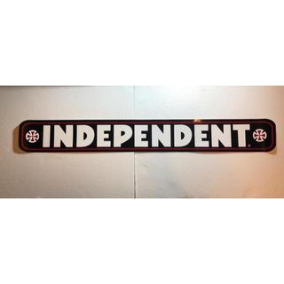 インディペンデント(INDEPENDENT)のindependent ステッカー 横長91cm (スケートボード)