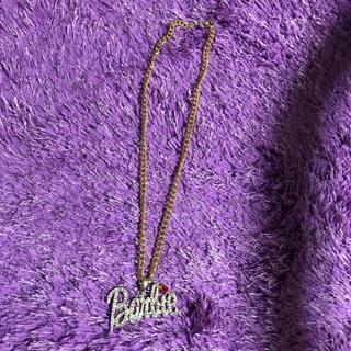バービー(Barbie)のバービー ネックレス ラインストーン(ネックレス)