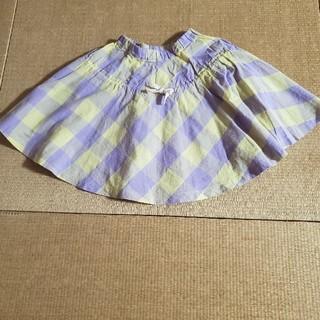 マーキーズ(MARKEY'S)のMARKEY'S  麻混薄手フレアスカート双子① (スカート)
