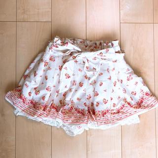 リズリサ(LIZ LISA)のLIZ LISA 花柄 キュロット スカート(キュロット)