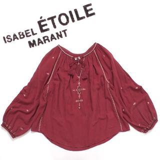 イザベルマラン(Isabel Marant)の18年物 ISABEL MARANT ETOILE MELINA 刺繍ブラウス(シャツ/ブラウス(長袖/七分))