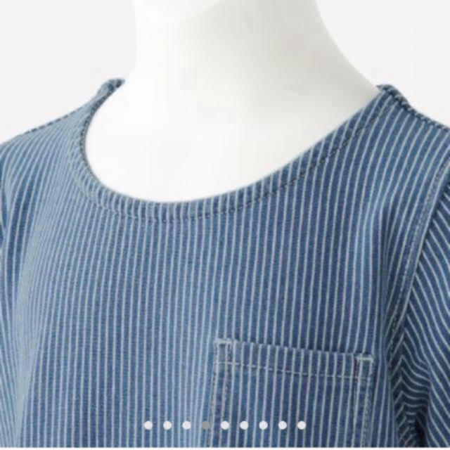 MUJI (無印良品)(ムジルシリョウヒン)の無印の半袖チュニック キッズ/ベビー/マタニティのキッズ服 女の子用(90cm~)(ワンピース)の商品写真