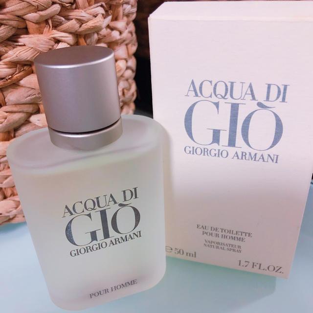 Armani(アルマーニ)のアルマーニ 香水♪アクア ジオ プールオム オードトワレ 50ml コスメ/美容の香水(香水(男性用))の商品写真