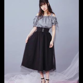 イートミー(EATME)のEATME  2WAYチュールフレアスカート  (ひざ丈スカート)