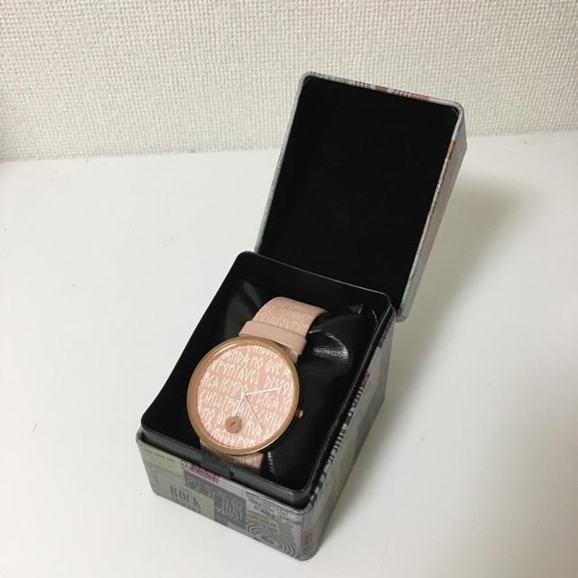 ❗️値下げ❗️chilli beans 腕時計 / 腕時計用ケース付きの通販 by マル! |ラクマ