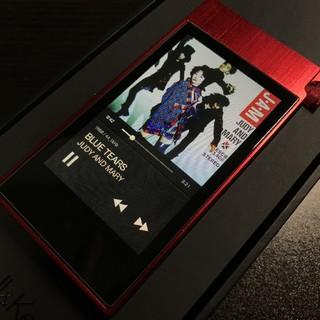 アイリバー(iriver)のAK100ⅱ Red hot Type-S (最終値下げ)(ポータブルプレーヤー)