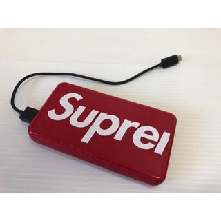 シュプリーム(Supreme)の19SS Supreme Mophie wireless XL バッテリー(バッテリー/充電器)