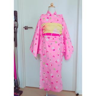 mikihouse - ミキハウス☆浴衣と兵児帯のセット120