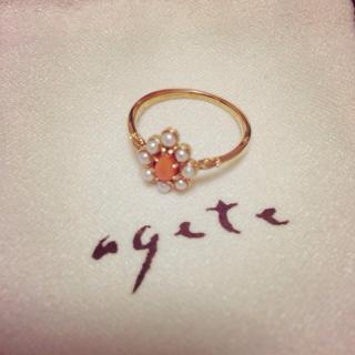 アガット(agete)のagete★K14★リング(リング(指輪))