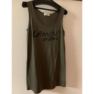 ランバンオンブルー(LANVIN en Bleu)のランバンオンブルー Tシャツ(Tシャツ(半袖/袖なし))