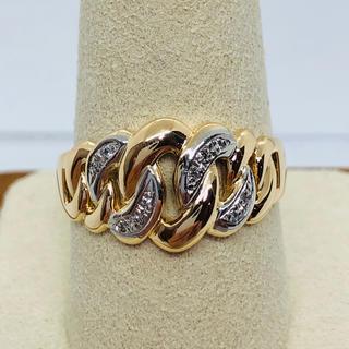 Pm900/K18 ダイヤモンド付き リング  D:0.06ct(リング(指輪))