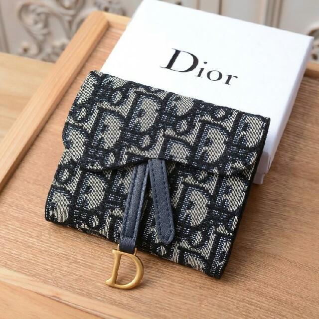 Dior - Dior デイオール折り財布 お札入れ、カード入れ 美品の通販 by テイジ🏉🏵's shop|ディオールならラクマ