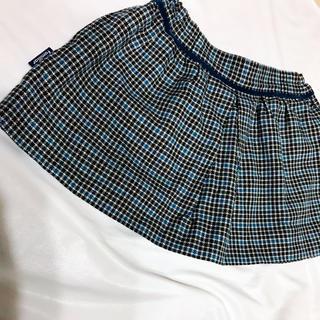 ファミリア(familiar)の美品 familiar * チェック 千鳥格子 秋冬 スカート 80(スカート)