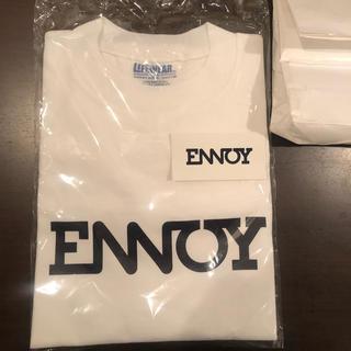ワンエルディーケーセレクト(1LDK SELECT)の新品 未使用 送料込み ステッカー付き ENNOY TEE Tシャツ XL(Tシャツ/カットソー(半袖/袖なし))