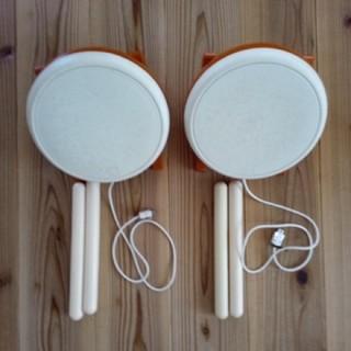 ウィー(Wii)の太鼓の達人 タタコン 2個セット(その他)