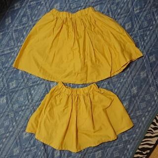 ブリーズ(BREEZE)のBreeze パンツ付きスカート 100 120 オソロ セット(スカート)