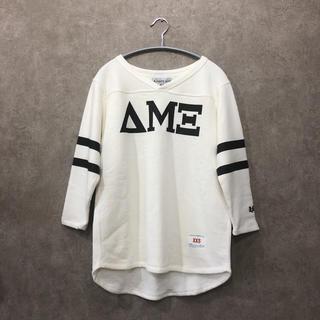 アメリカーナ(AMERICANA)の新品 AMERICANA フットボールプルオーバー フットボールTシャツ(Tシャツ(長袖/七分))