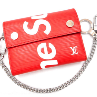 シュプリーム(Supreme)のLouis Vuitton Supreme WALLET SP EPI DWT(財布)