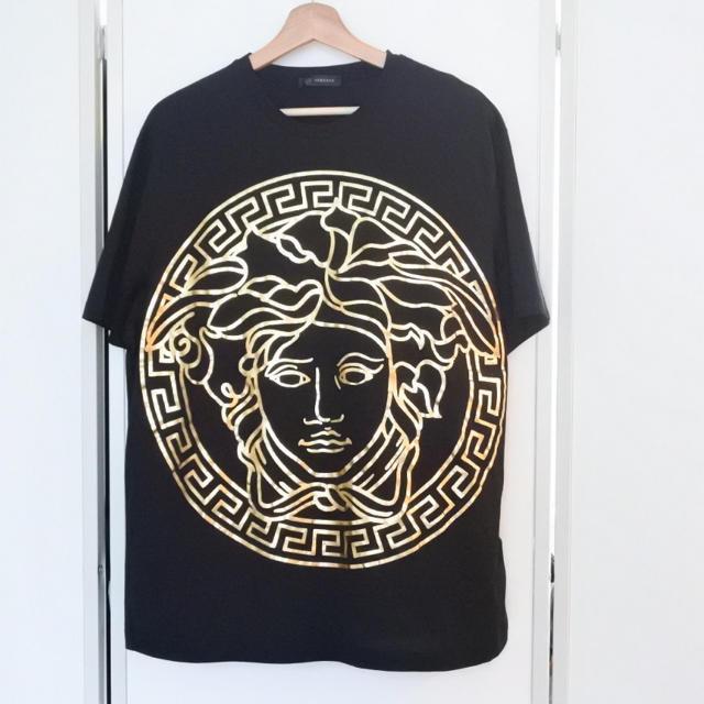 VERSACE(ヴェルサーチ)のVERSACE ヴェルサーチ Tシャツ メンズ 2XL 現行モデル メデゥーサ メンズのトップス(Tシャツ/カットソー(半袖/袖なし))の商品写真