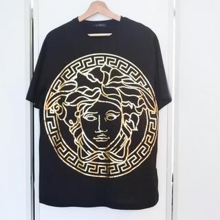 ヴェルサーチ(VERSACE)のVERSACE ヴェルサーチ Tシャツ メンズ 2XL 現行モデル メデゥーサ(Tシャツ/カットソー(半袖/袖なし))