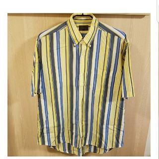 チャップス(CHAPS)の美品CHAPS RALPH LAUREN半袖シャツ サイズL(シャツ)