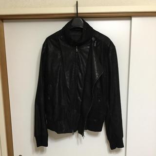 ヨウジヤマモト(Yohji Yamamoto)のレザージャケット ブルゾン ヨウジヤマモト ワイズ(ブルゾン)