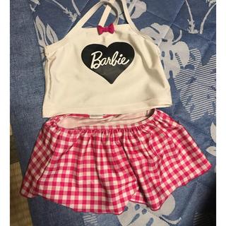 バービー(Barbie)の水着 120センチ(水着)