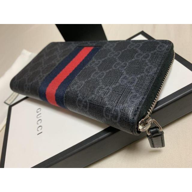 Gucci - GUCCI レザー 黒 長財布の通販 by elbernha's shop|グッチならラクマ