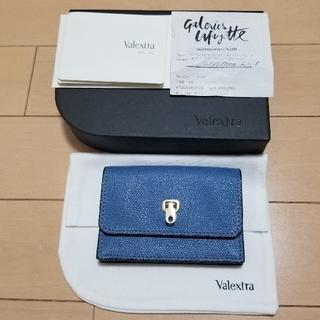 ヴァレクストラ(Valextra)のヴァレクストラ カードケース 新品未使用(名刺入れ/定期入れ)