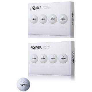 ホンマゴルフ(本間ゴルフ)の【送料無料】本間 ホンマ NEW D1ゴルフボール 新品 2ダース 白(その他)