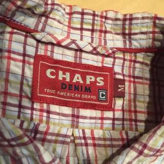 チャップス(CHAPS)のCHAPS DENIM チェック半袖シャツ(シャツ)