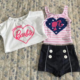 バービー(Barbie)のバービー 水着 セパレートタイプ 110(水着)