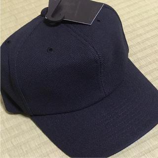 アンダーアーマー(UNDER ARMOUR)の新品 アンダーアーマー キッズベースボールキャップ   ブラック(帽子)