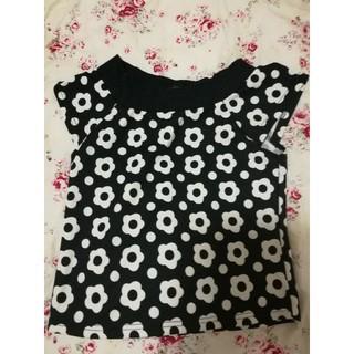 マリークワント(MARY QUANT)の花柄トップス(Tシャツ(半袖/袖なし))
