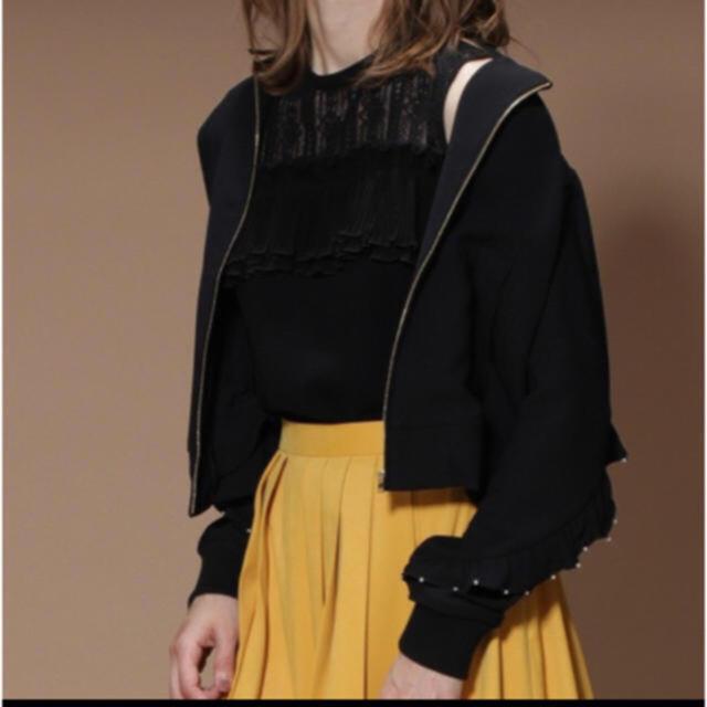GRACE CONTINENTAL(グレースコンチネンタル)のCK様専用☆☆☆   グレースコンチネンタル  ジョーゼット刺繍ブルゾン レディースのジャケット/アウター(ブルゾン)の商品写真