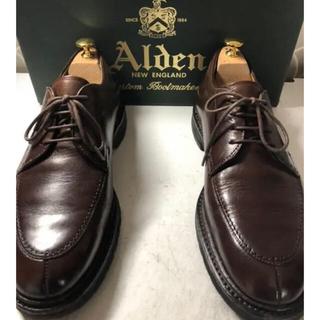 オールデン(Alden)のAlden オールデン Uチップ 8D 26.0 カーフ(ドレス/ビジネス)