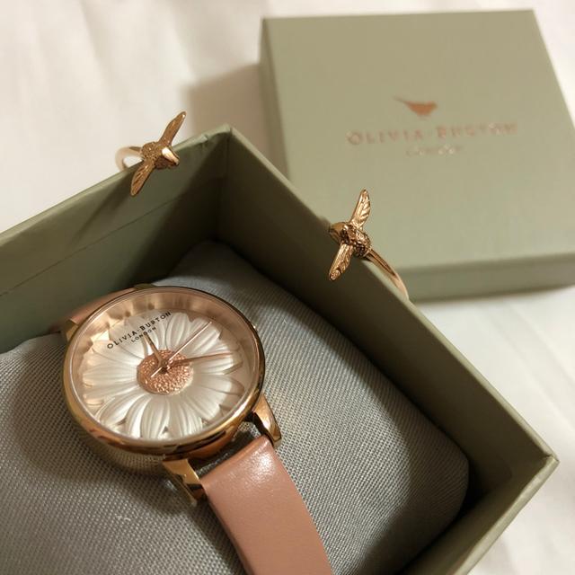 Olivia Burton 腕時計 バングルの通販 by み。's shop|ラクマ
