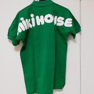 ミキハウス(mikihouse)の【激レア★90s 】ミキハウス ポロシャツ グリーンmサイズ(ポロシャツ)