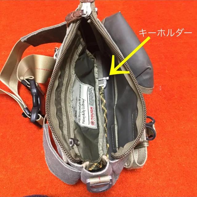 TOUGH(タフ)のtough ミリタリー風☆週末限定でお値下げしてみます☆ メンズのバッグ(ボディーバッグ)の商品写真